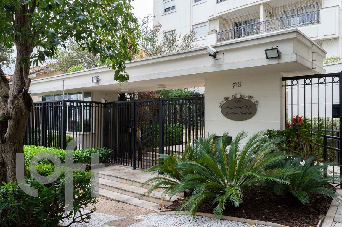 Fachada do Condomínio Practical Life Jardim Paulista