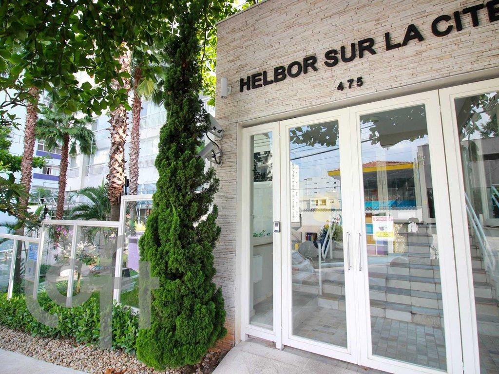 Fachada do Condomínio Helbor Sur La Cité