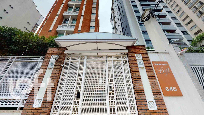 Fachada do Condomínio Ibirapuera Loft