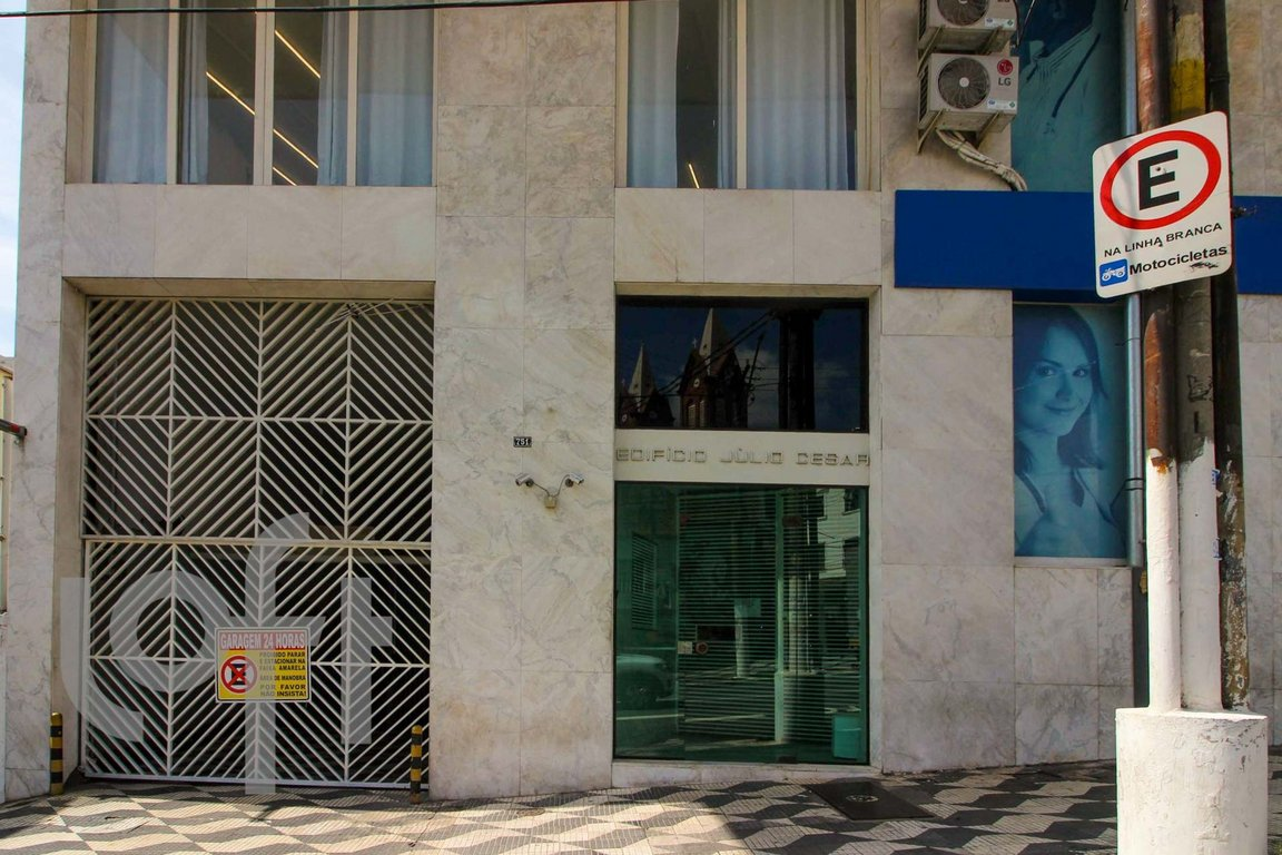 Fachada do Condomínio Julio Cesar