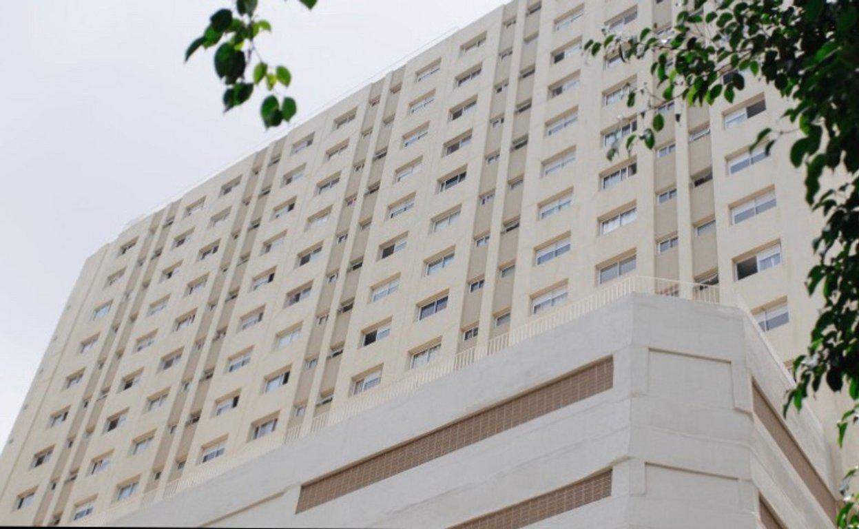 Fachada do Condomínio Sampa Residencial