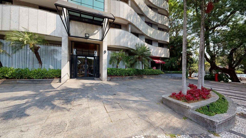 Fachada do Condomínio George V Residence - Alto de Pinheiros