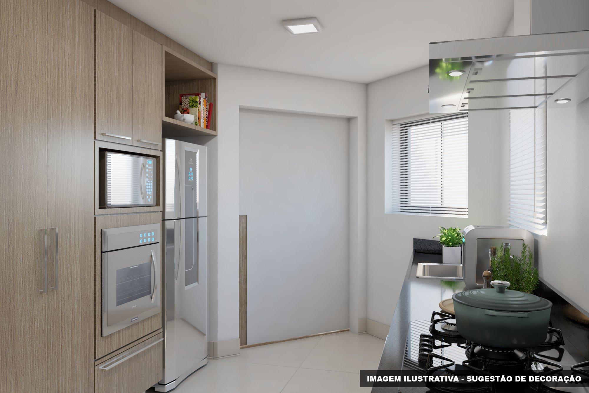 Foto de Cozinha com vaso de planta, pia