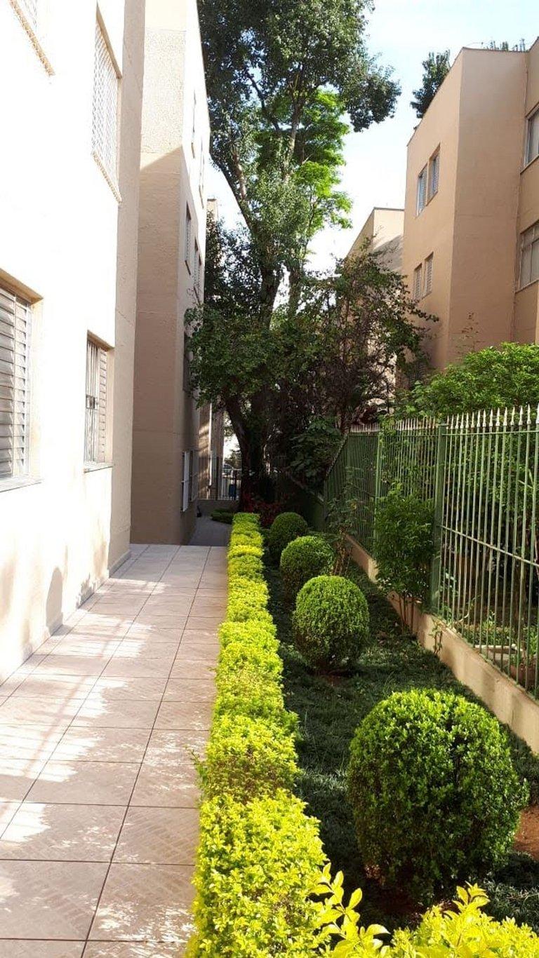 Fachada do Condomínio Alto de Pinheiros 2001 - Bloco 38