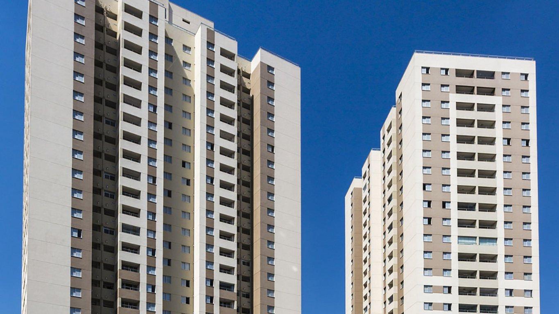 Fachada do Condomínio Up Life - São Paulo