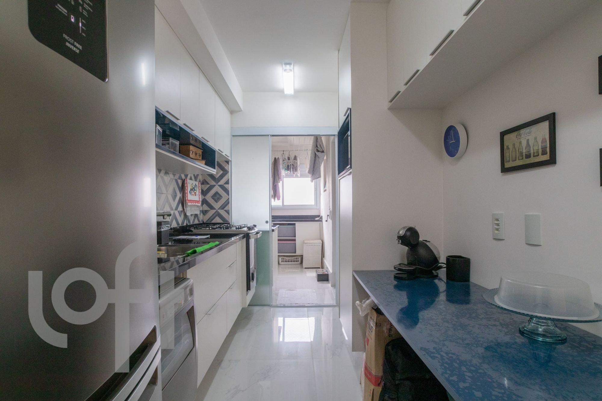 Foto de Cozinha com relógio