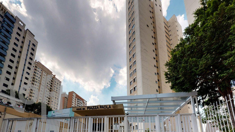 Fachada do Condomínio Piazza Paola