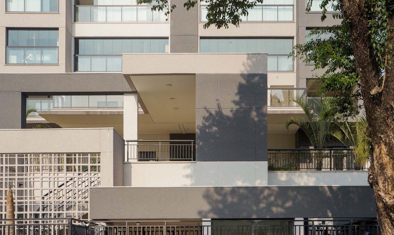 Fachada do Condomínio Legittimo Vila Romana