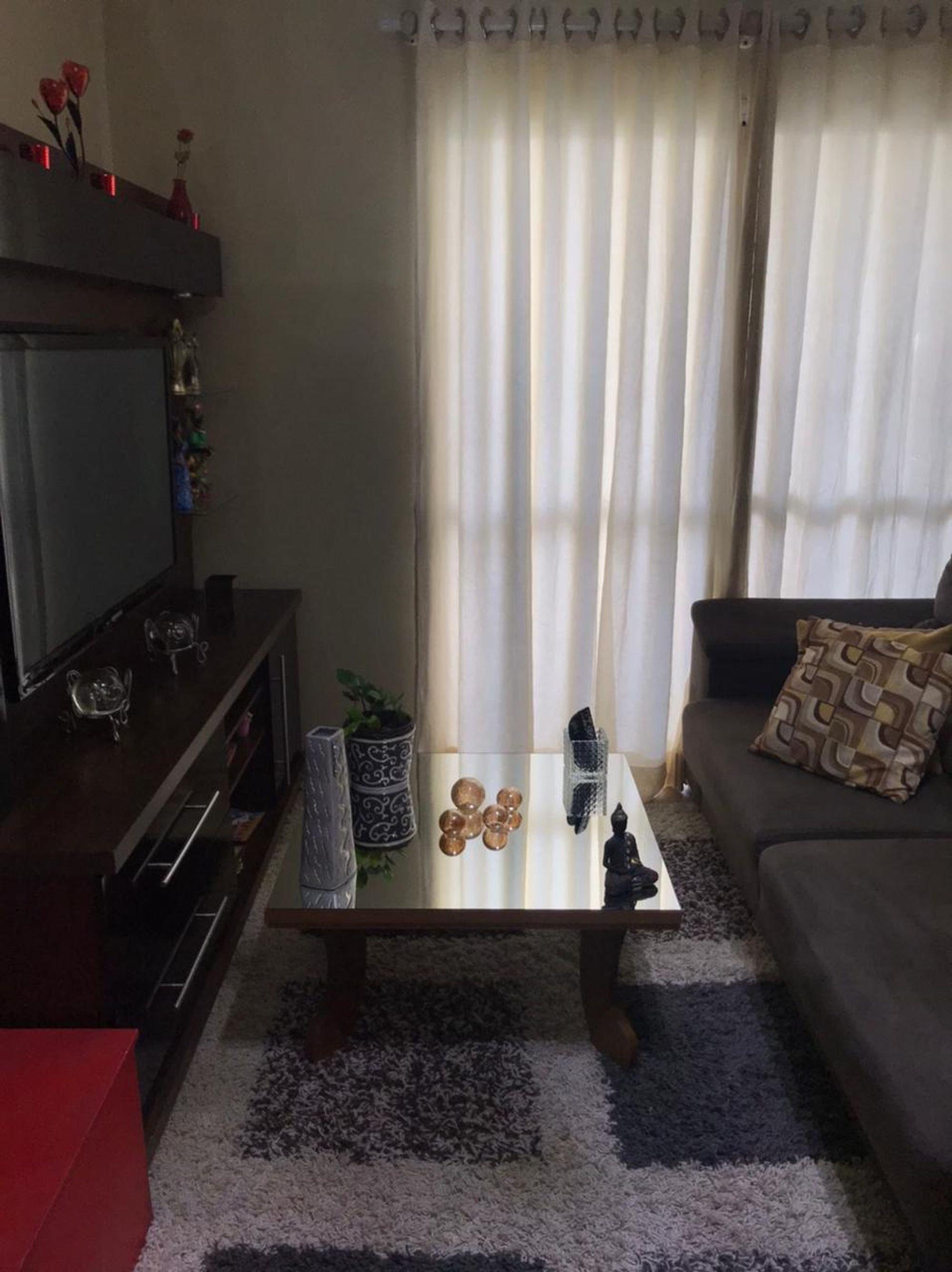 Foto de Sala com vaso de planta, sofá, televisão, vaso