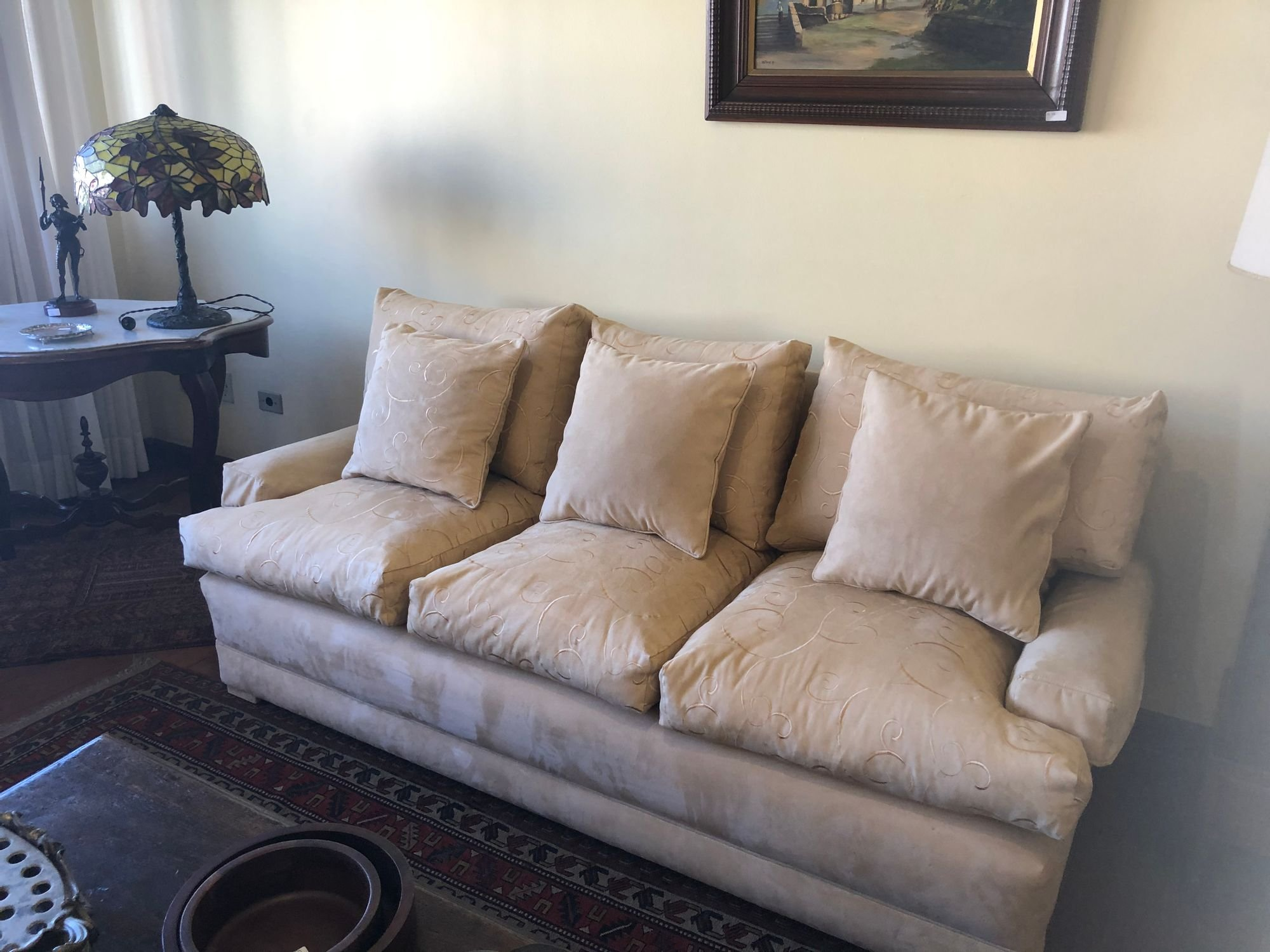 Foto de Quarto com sofá
