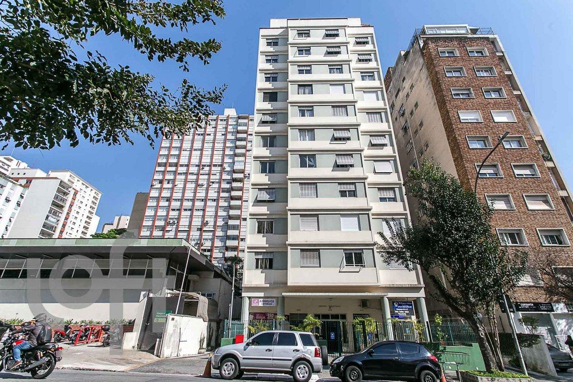 Fachada do Condomínio Paulistania