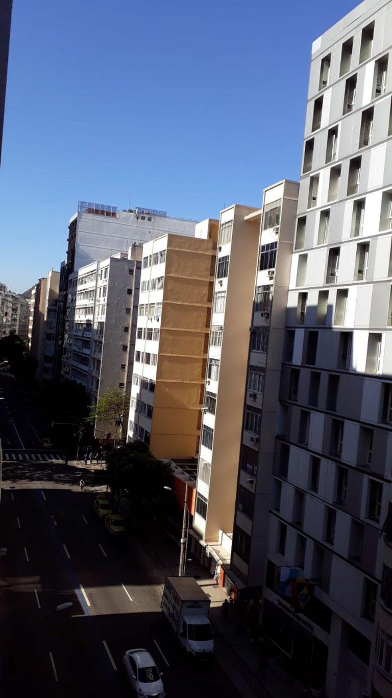 Fachada do Condomínio Condomínio do Edifício Rivadavia