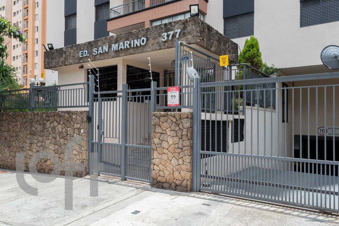Fachada do Condomínio San Marino