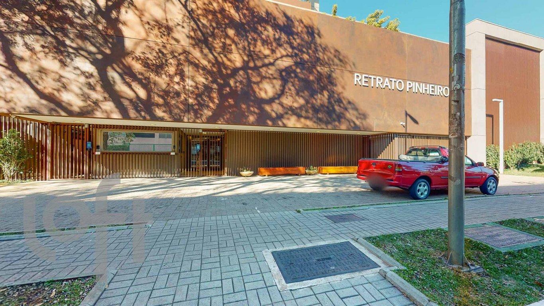 Fachada do Condomínio Condominio Residencial Retrato Pinheiros