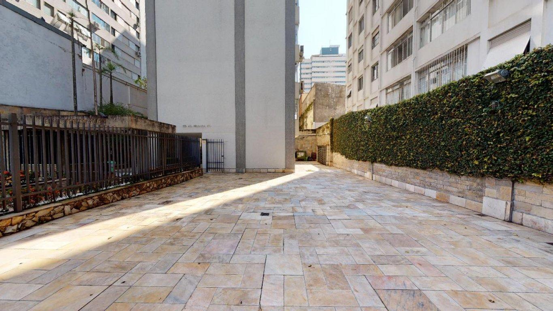 Fachada do Condomínio Alameda Franca