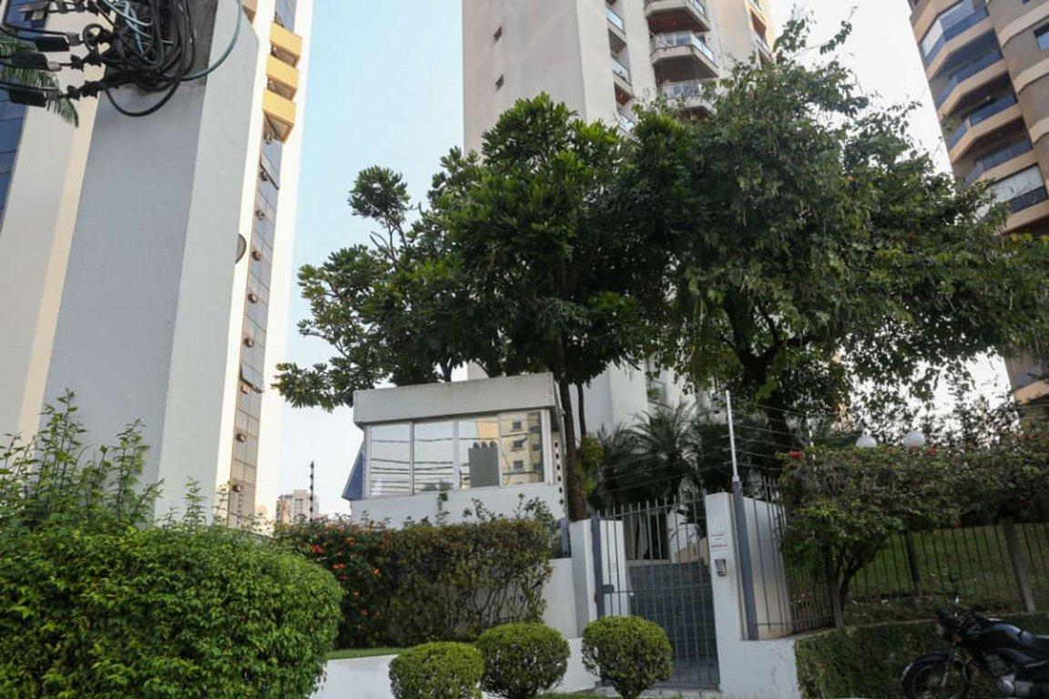 Fachada do Condomínio Ibirapuera Park