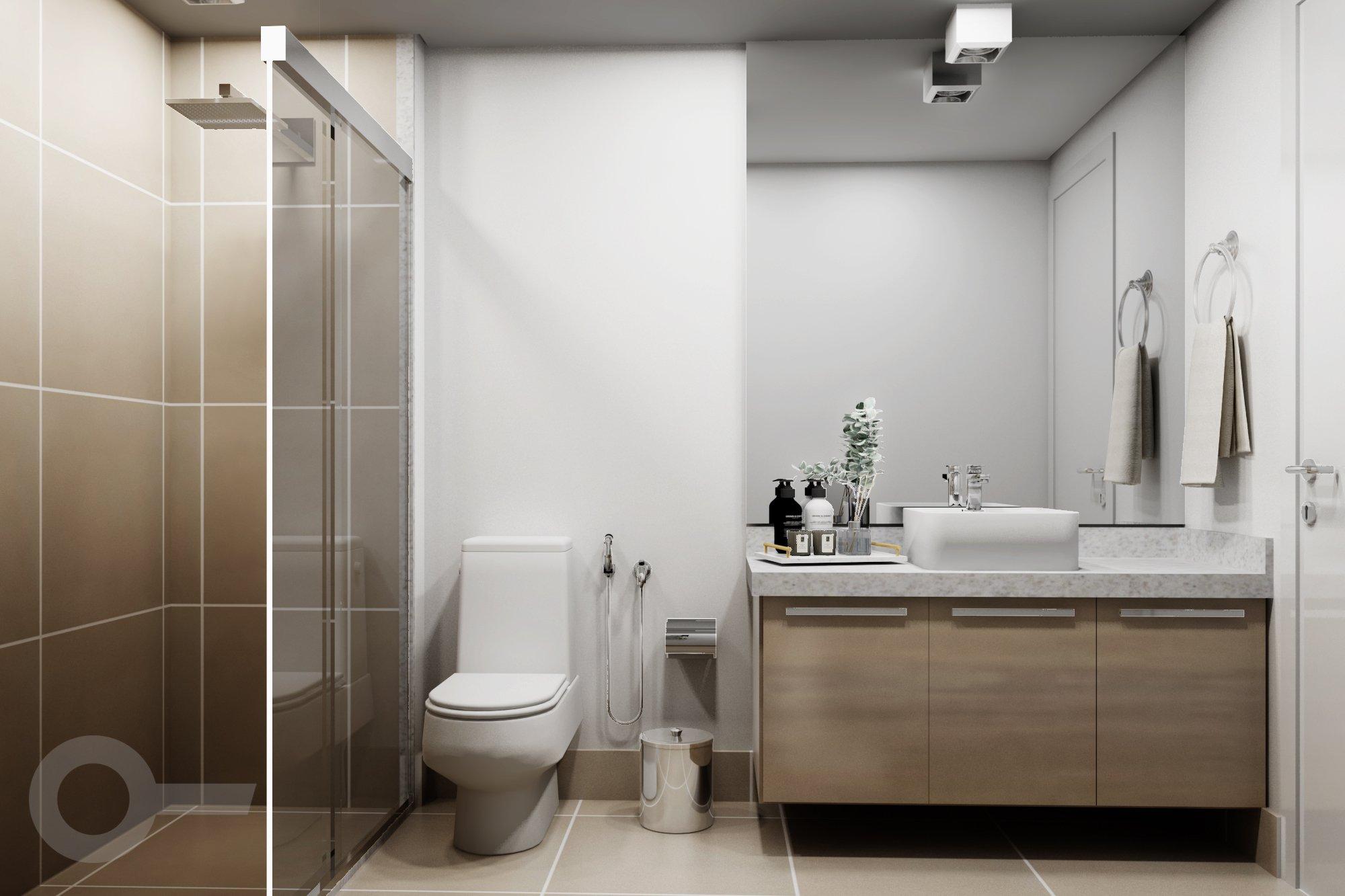 Foto de Banheiro com vaso de planta, vaso sanitário, vaso, garrafa, pia