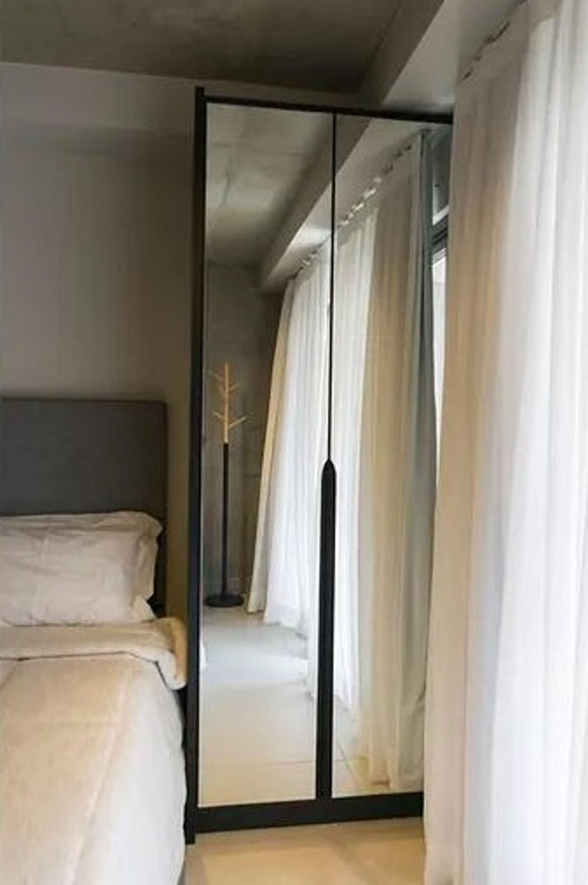 Foto de Corredor com cama