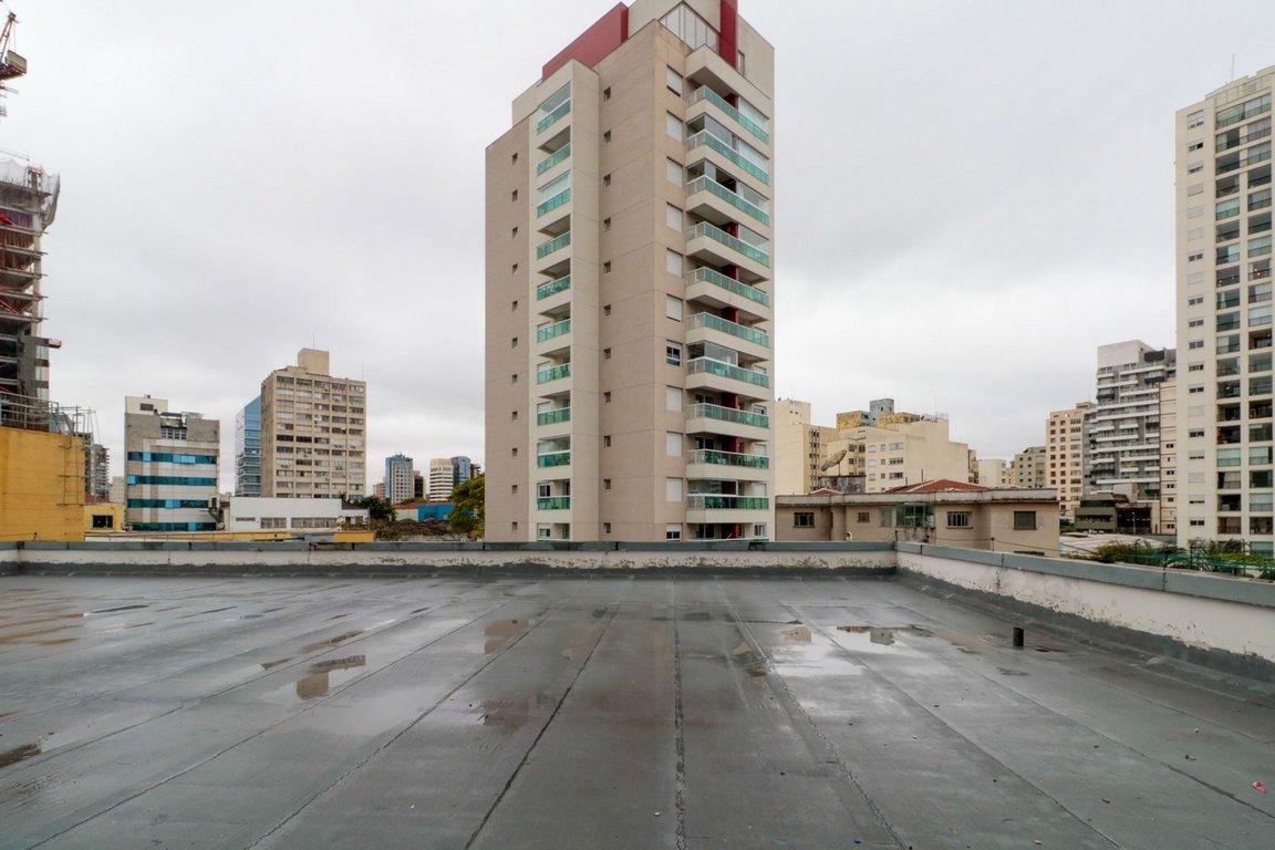 Fachada do Condomínio Conjunto Satélite Pinheiros