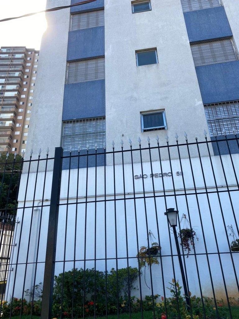 Fachada do Condomínio São Pedro - Bloco a