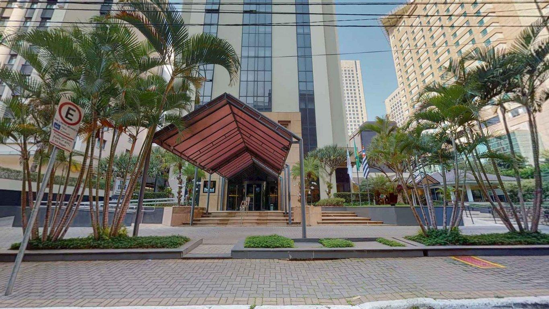 Fachada do Condomínio The Time Convention & Residence Service