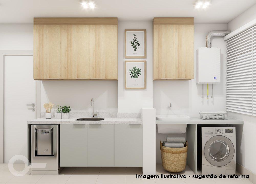 Foto de Cozinha com vaso de planta, pia, xícara